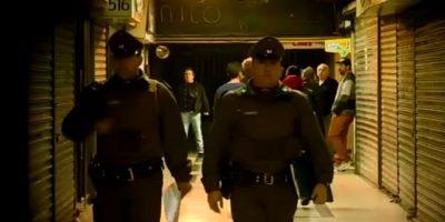 Cuatro personas son detenidas por robo a joyerías en galería de Santiago Centro