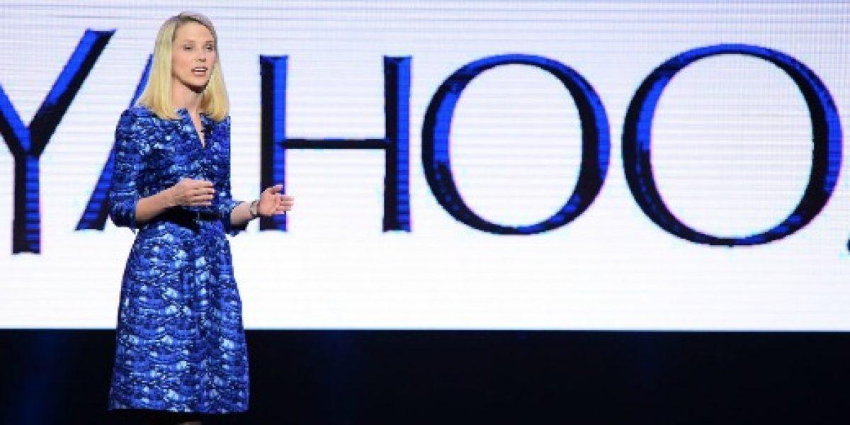 CEO de Yahoo cobrará US$ 55 millones si es despedida