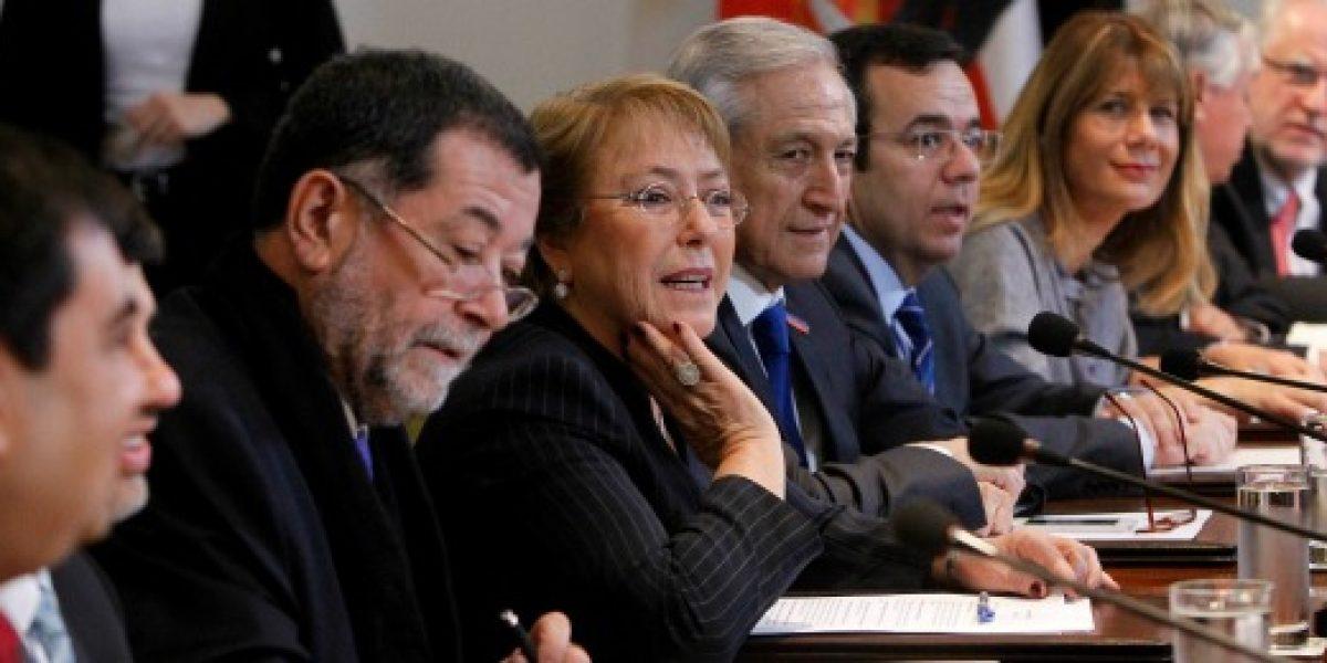 Presidenta Bachelet todavía no decide si vetará o no protecto de Reforma Laboral