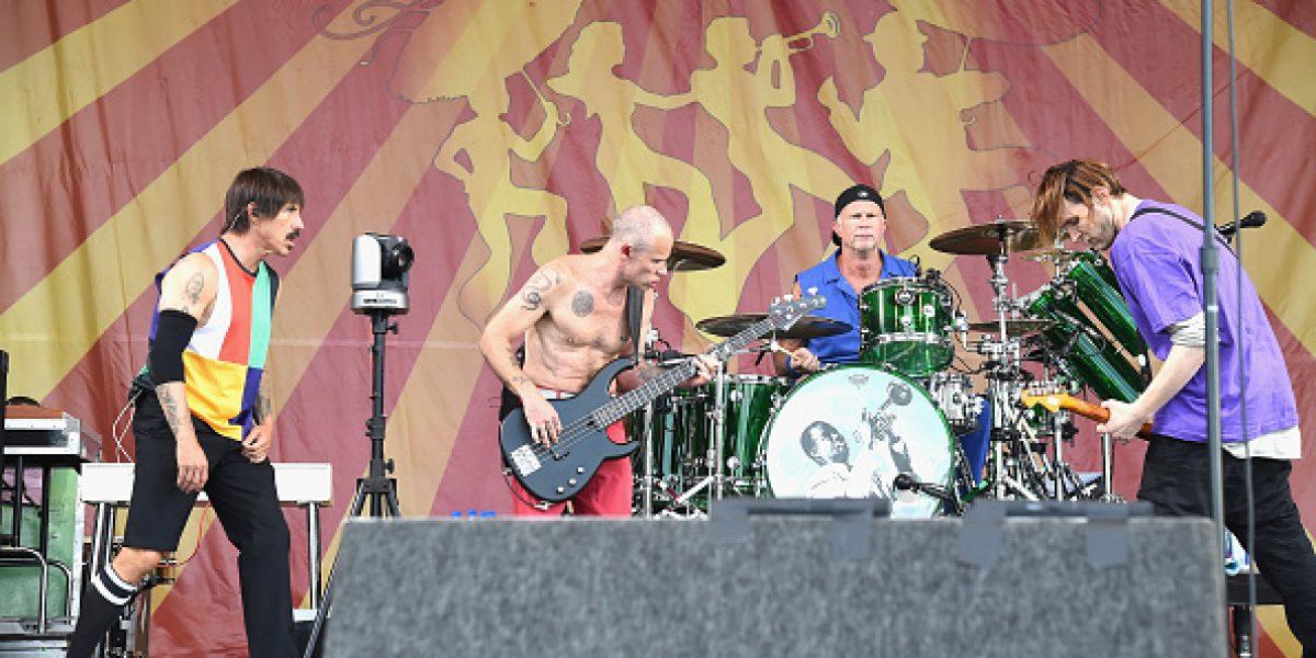 Red Hot Chili Peppers sorprende con anuncio de nuevo sencillo