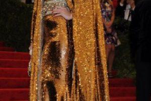 Bianca Brandolini D' Adda parecía atrapada en una mala película de fantasía de los años 80. Esto fue en 2012. Foto:vía Getty Images. Imagen Por: