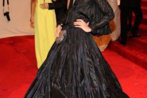 Crystal Renn se vistió con una bolsa de basura rompiéndonos el corazón a todos en 2011. Foto:vía Getty Images. Imagen Por: