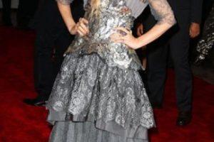 """Mary Kate Olsen en 2009, parecía la versión """"grunge"""" de Elsa de """"Frozen"""". Foto:vía Getty Images. Imagen Por:"""