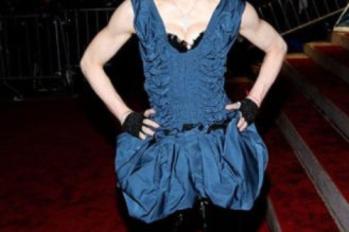 """Madonna en 2009, como la hermana """"casquivana"""" de Liebre de Marzo en """"Alicia en el país de las Maravillas"""". Foto:vía Getty Images. Imagen Por:"""