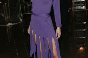 """Theodora Richards parecía salida de """"Los Picapiedra"""" en 2004. Foto:vía Getty Images. Imagen Por:"""