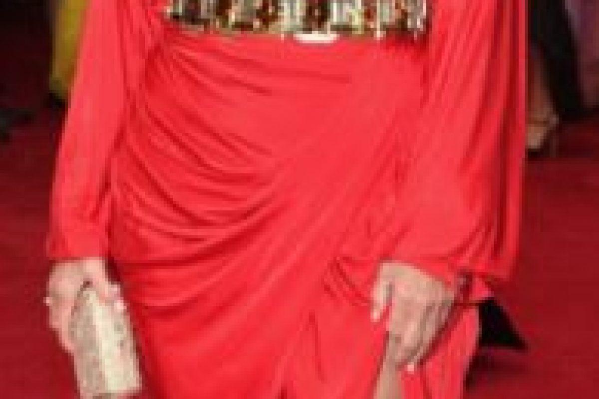 Kris Jenner el año pasado en una película de John Woo en los 80, pero nadie se vestía así. Foto:vía Getty Images. Imagen Por: