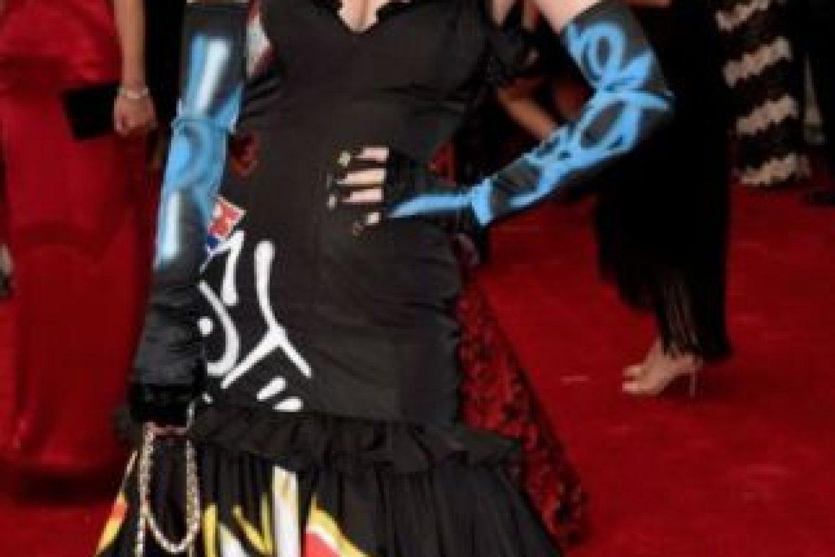 """Katy Perry en Moschino, viéndose como Kris Jenner en su estatus de """"nueva rica"""" (o sea siempre). Foto:vía Getty Images. Imagen Por:"""