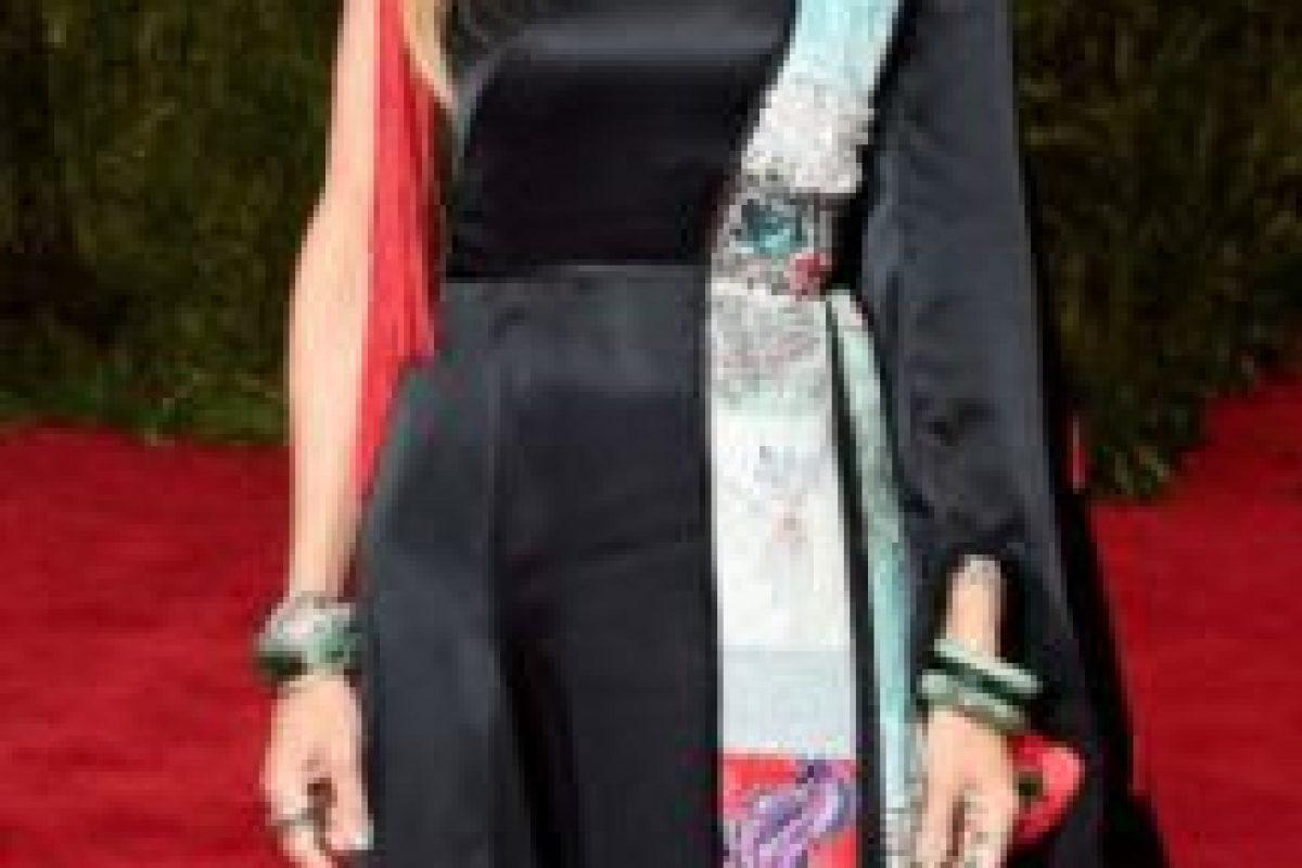 """Sarah Jessica Parker como Gokú. Sí, porque Gokú era un mono chino del libro """"Viaje al Oeste"""", antes de ser un alienígena idiota y poderoso. Foto:vía Getty Images. Imagen Por:"""
