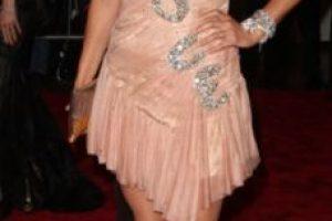 Helena Christensen, ese vestido ni siquiera lo usa la campeona mundial de patinaje artístico Michelle Kwan. Foto:vía Getty Images. Imagen Por: