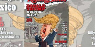 """Trump: """"un peligro para México"""" alerta la revista Rolling Stone"""