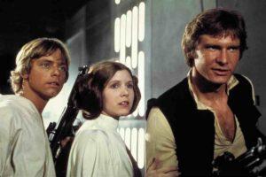 Cuando se estrenó en 1977, Star Wars sólo se proyectó en 32 salas de Estados Unidos. Foto:Lucas Film. Imagen Por: