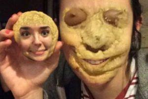 ¿Las galletas tienen cara? Snapchat dice que sí. Foto:Tumblr/cutetaurusgirl. Imagen Por: