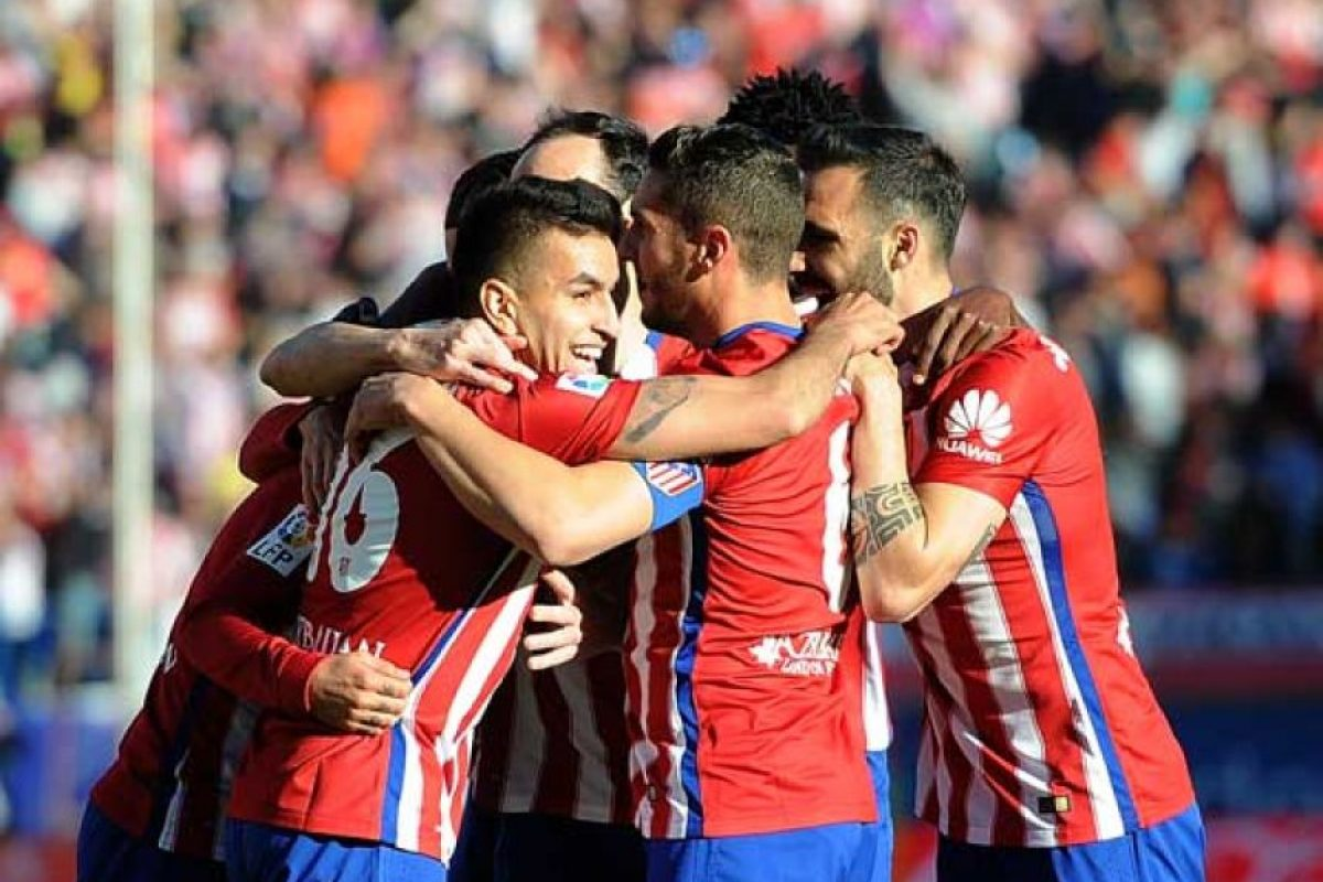 """Los """"Colchoneros"""" vencieron al Bayern en la idea por marcador 1-0. Foto:Getty Images. Imagen Por:"""