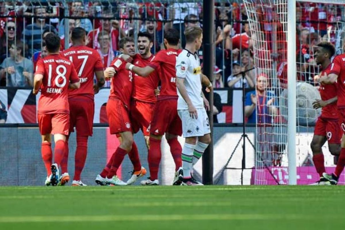 En la Bundesliga son líderes con 82 puntos, cinco más que el Borussia Dortmund. Foto:Getty Images. Imagen Por: