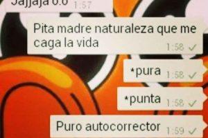 Al autocorrector no le gusta decir groserías. Foto:Tumblr. Imagen Por:
