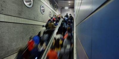 Colapsa Metro: Línea 1 sólo funciona entre estaciones San Pablo y Escuela Militar
