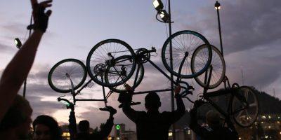 Hoy se realiza cicletada nocturna en amplio sector de Santiago Oriente
