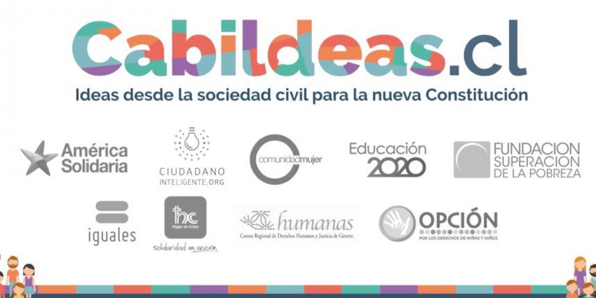 Cabildeas: la iniciativa que busca fomentar y orientar el debate sobre una nueva Constitución para Chile