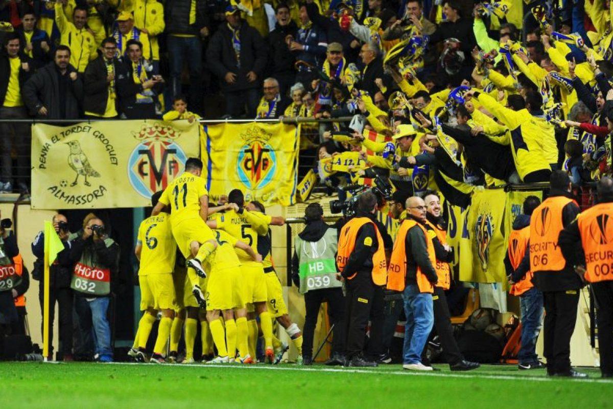 El Villarreal sacó una mínima ventaja en el Estadio Madrigal Foto:Getty Images. Imagen Por: