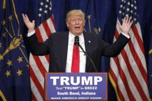 Del Partido Republicano a la cabeza sigue Donald Trump. Foto:AP. Imagen Por: