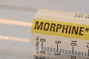 La morfina es una potente droga opiácea usada frecuentemente en medicina como analgésico. Foto:Wikipedia. Imagen Por: