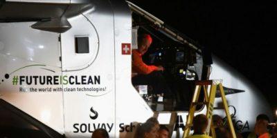 El Solar Impulse completa la mitad de su vuelta al mundo