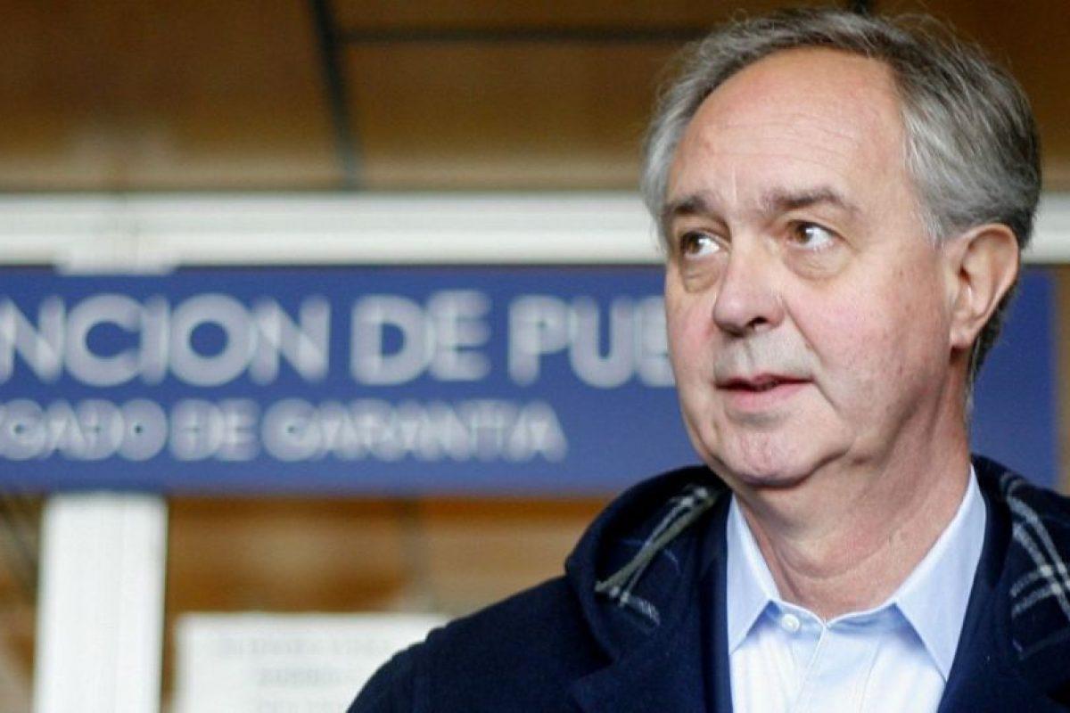 Francisco de la Maza Foto:Agencia UNO. Imagen Por: