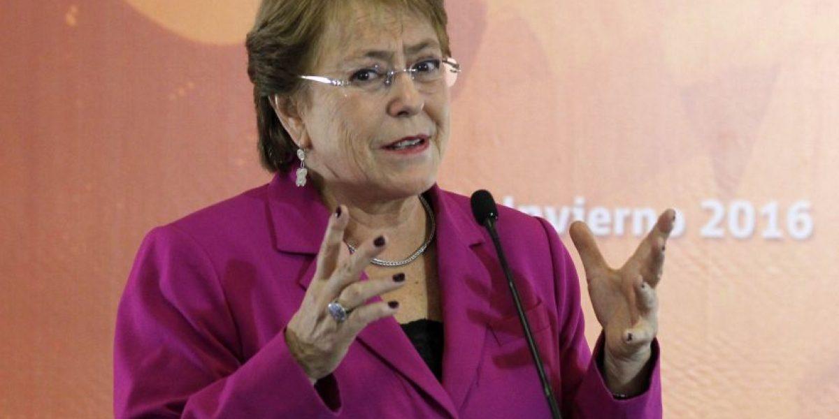 Encuesta Adimark: aprobación de Presidenta Bachelet llega al 29%