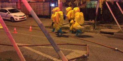 Un muerto y cientos de evacuados por emergencia química en Puente Alto