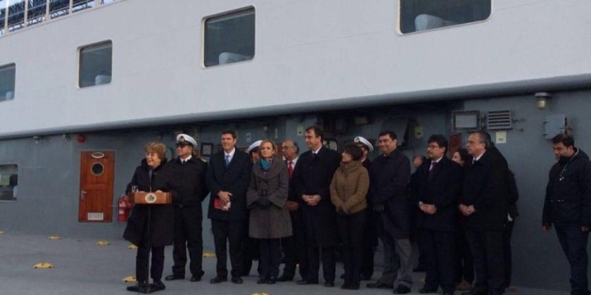 Presidenta Bachelet a pescadores afectados por la Marea Roja: