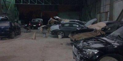 Operativo de Carabineros detiene a banda dedicada al robo de autos en centros comerciales