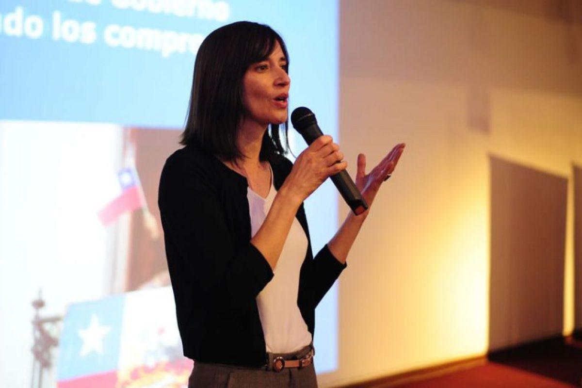 Natalia Riffo Foto:Agencia UNO. Imagen Por: