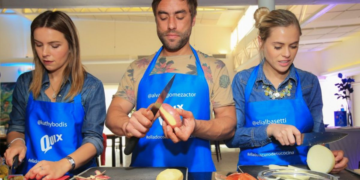 Fotos: Famosos se pusieron el delantal y se la jugaron cocinando
