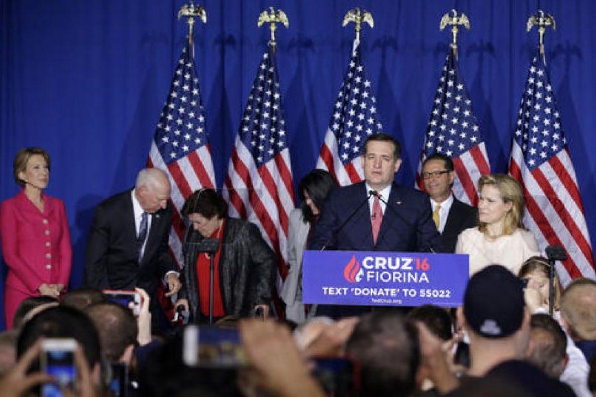 El anunció lo dio frente a un grupo de seguidores. Foto:AP. Imagen Por: