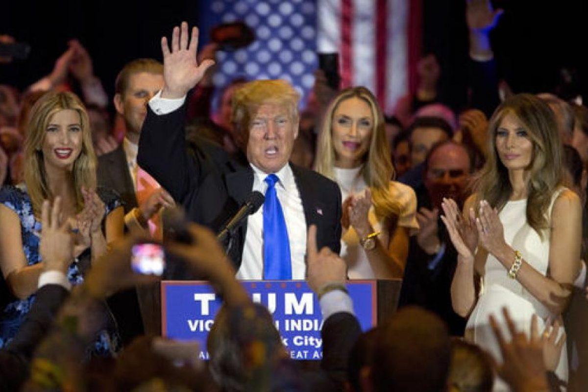 El martes 3 de mayo Trump logró otro triunfo en Indiana. Foto:AP. Imagen Por:
