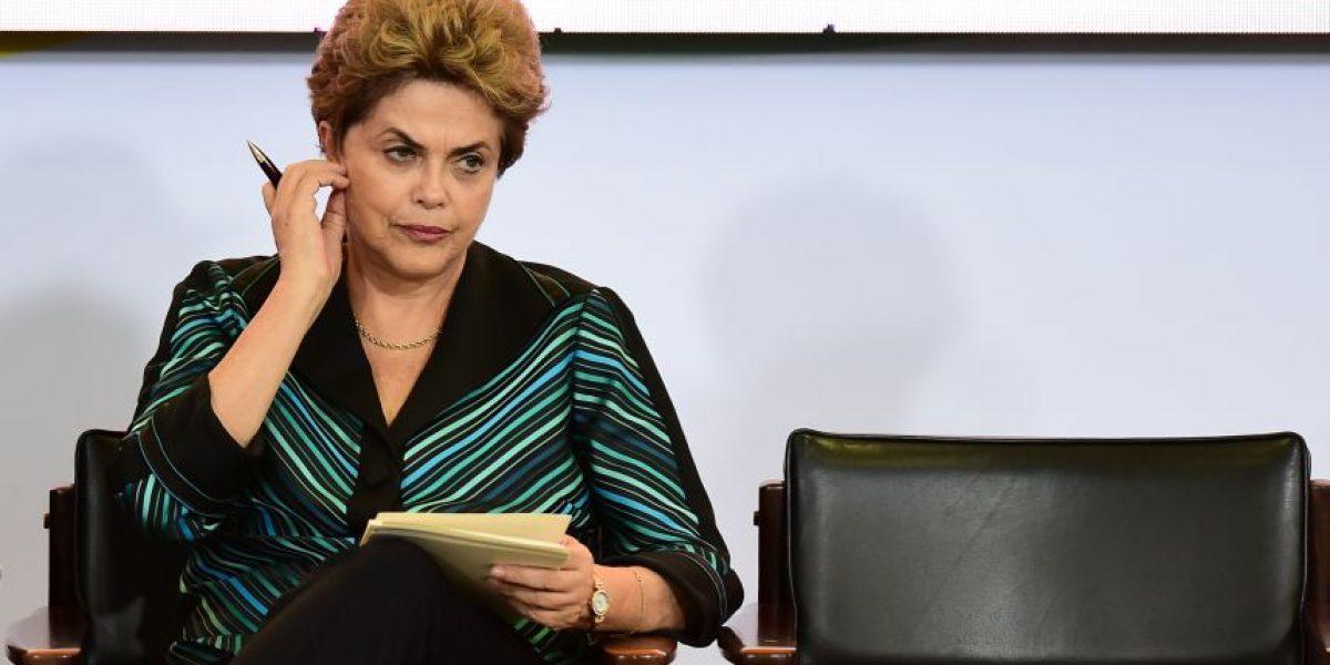 Dilma Rousseff ante posible juicio político: