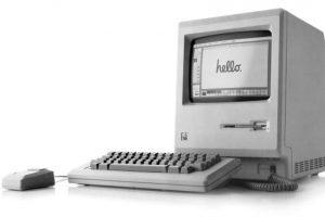 Apple Macintosh, el tercero. Foto:Archivo Getty. Imagen Por: