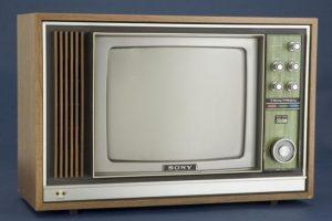Sony Trinitron, el dos. Foto:Archivo Getty. Imagen Por: