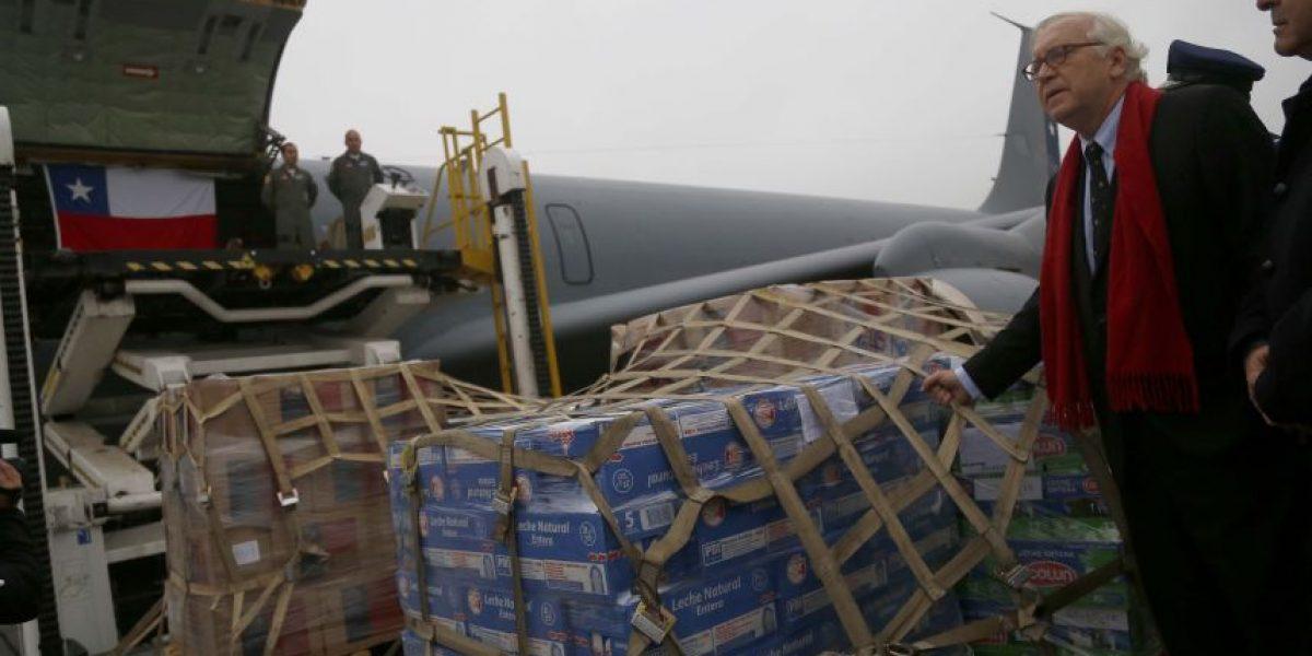 Gobierno envía 17 toneladas de ayuda a víctimas terremoto en Ecuador