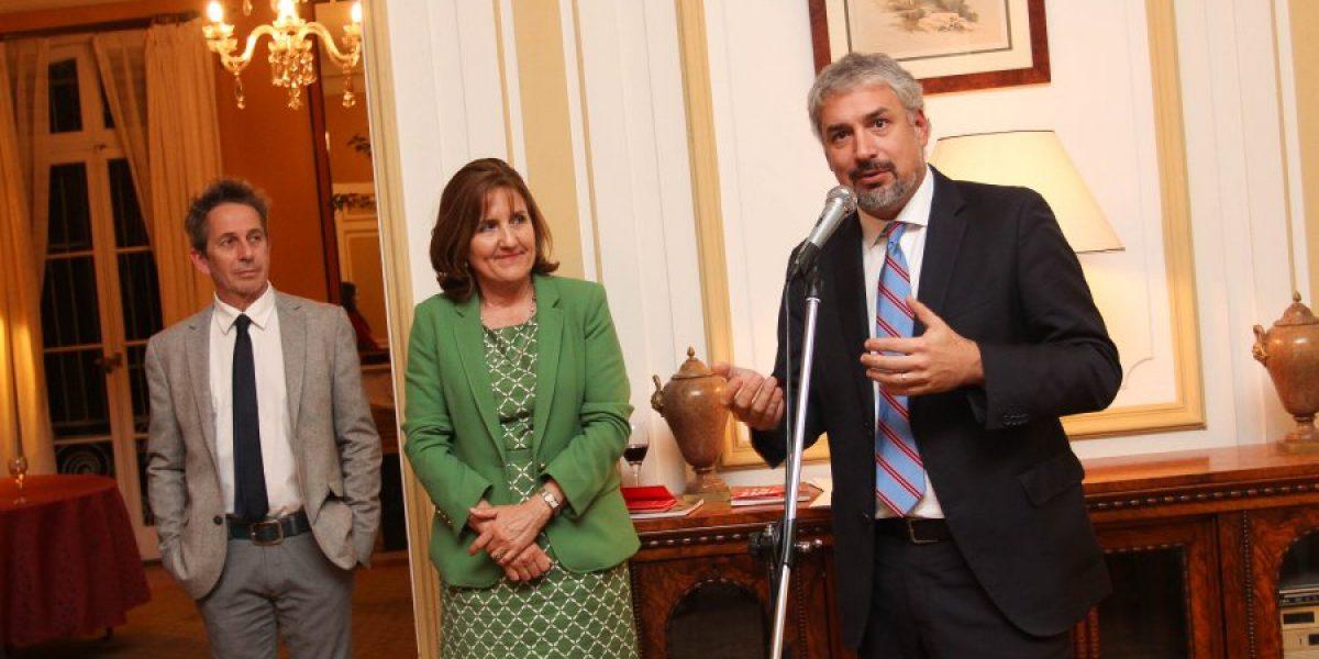 Ministro de Cultura despidió a la delegación chilena que irá a Cannes