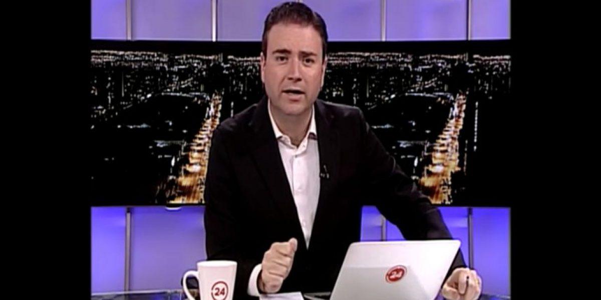 Periodista Christian Pino confirmó por Twitter su salida de TVN