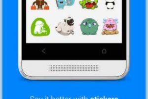 """En ella se acostumbra usar """"stickers"""". Foto:Play Store. Imagen Por:"""
