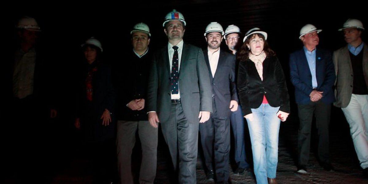 Autoridades visitan primera estación de futuro tren que unirá Santiago con Batuco