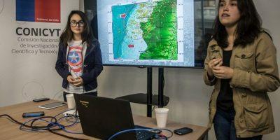 Alumnas chilenas que crearon un alertador sísmico competirán en mundial de ciencia en EEUU