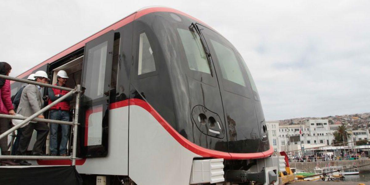 Galería: así eran los modernos trenes para nuevas Líneas de Metro antes de ser aplastados