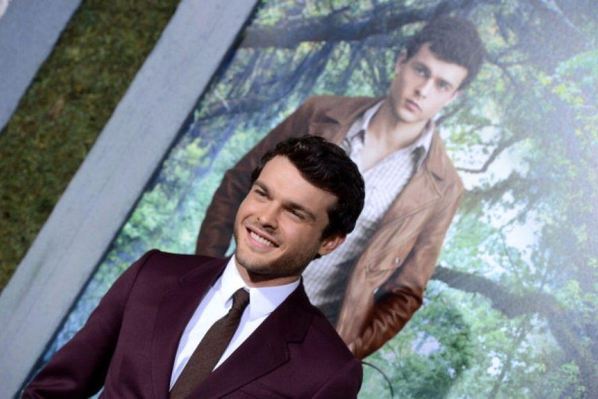 """Interpretará al joven """"Han Solo"""" Foto:Getty Images. Imagen Por:"""