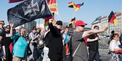 La ultraderecha alemana fracasa en su intención de convocatoria masiva