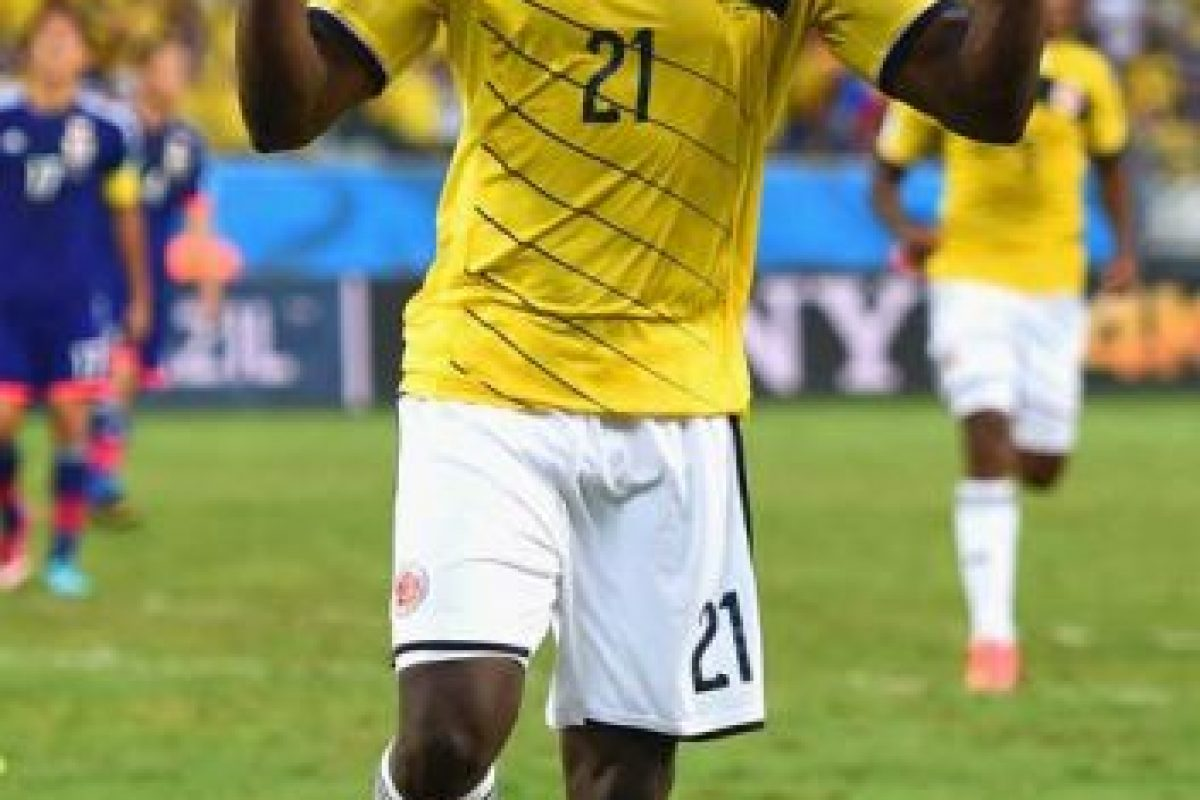 Colombia: Jackson Martínez Foto:Getty Images. Imagen Por: