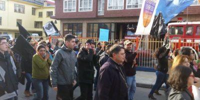 """Obispo de Ancud: """"Lo que sucede en la región es parecido a un terremoto"""""""