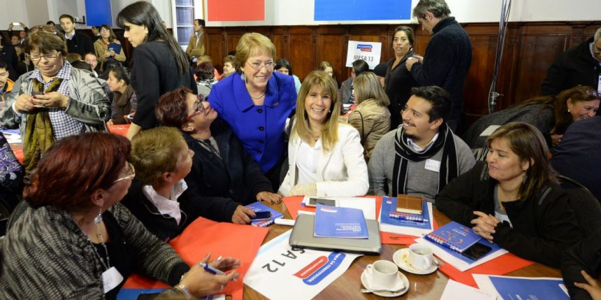 Bachelet participa en jornada informativa sobre Proceso Constituyente